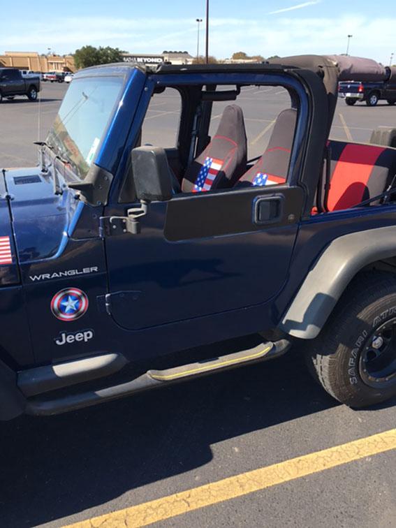 1997 2002 Jeep Wrangler Tj Neoprene Seat Covers Front Rear