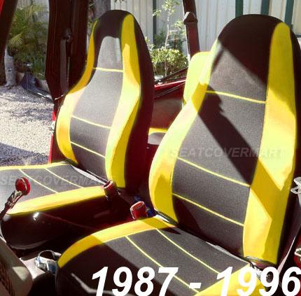 Terrific Jeep Wrangler 1987 89 Neoprene Front Rear Full Set Car Seat Lamtechconsult Wood Chair Design Ideas Lamtechconsultcom