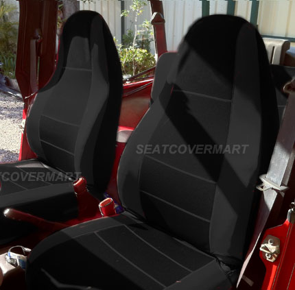Custom Fit Car Seat Cover Full Set